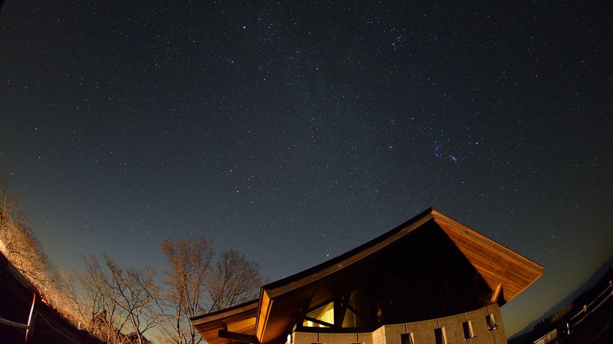 立ち昇る冬の星座たち