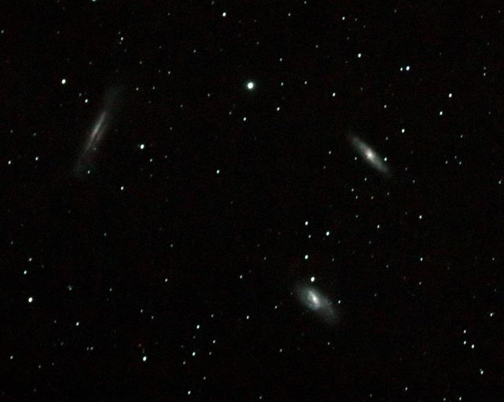 M65 N66 NGC3628_しし座のトリオ銀河